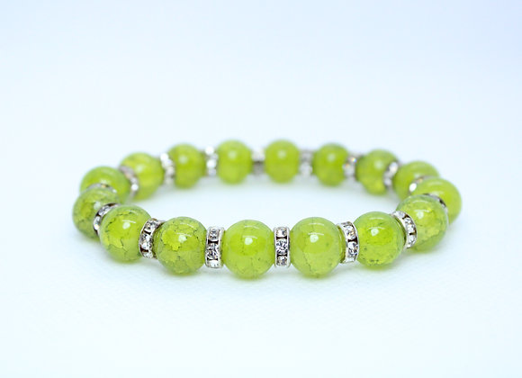 Green and Silver Bracelet