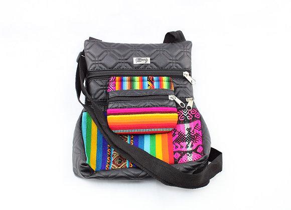 Aztec Mini Stripe Bag ( Rainbow Color)