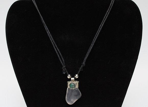Clear Quartz Healing Stone Necklace