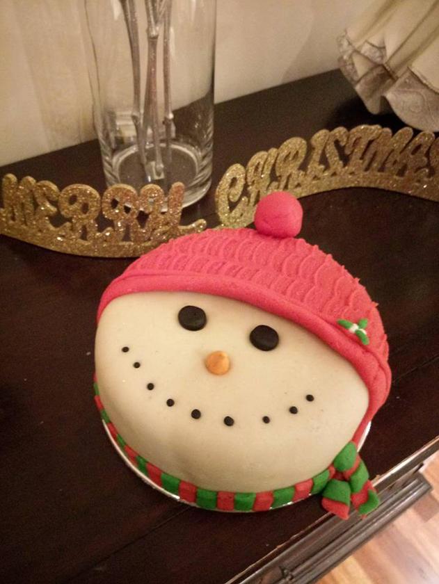 Novelty Christmas Cake