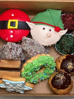 Christmas goodies box for 2