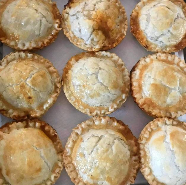 Devilled Chicken Pies