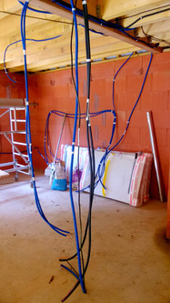 Installation électrique agrandissement maison 2