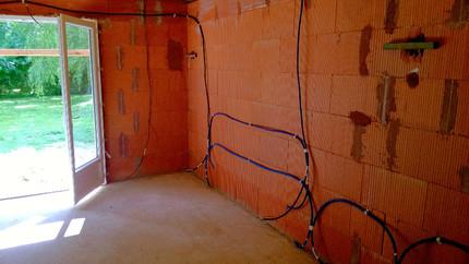 Installation électrique agrandissement maison
