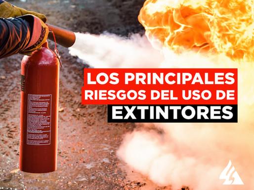 Los principales riesgos del uso incorrecto de extintores