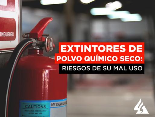 Extintores de Polvo Químico Seco: Riesgos de su mal uso