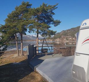 bilde camping utsikt mot vannet .jpg