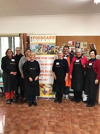 Volunteers at FoodCare