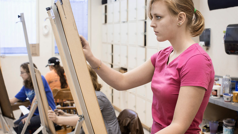 Master's Painting for Grades 9-12 (1:00)