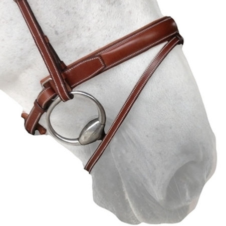 SILVER CROWN noseband Swedish noseband Pull Back