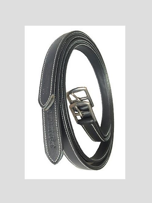 SILVER CROWN stirrup straps