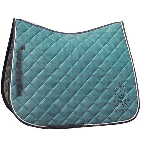 TORPOL DIAMOND saddle pad refined with Swarovski crystals.