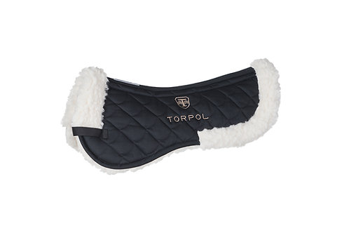 TORPOL magnetic field saddle pad Nelson ™ natural fur