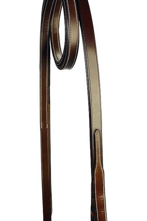 SILVER CROWN reins 2 Faces Leather / Grip