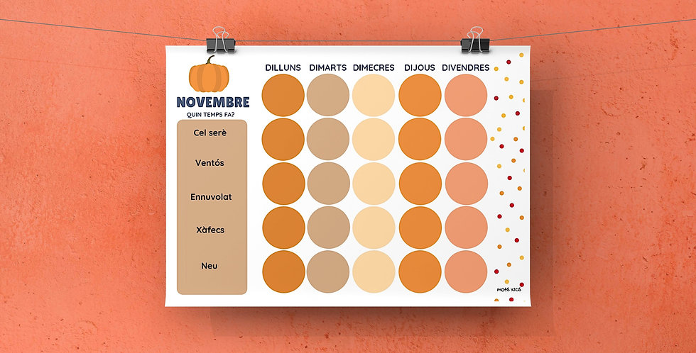 """Calendari """"Quin temps fa"""""""