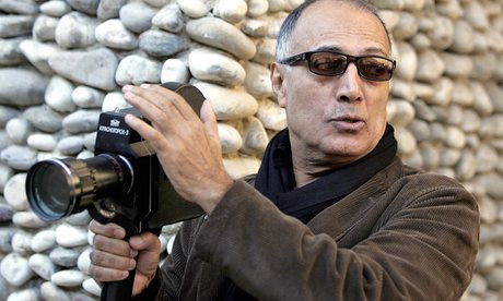 Abbas Kiarostami during the production of Certified Copy (2010)