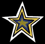 4 layer star white navy yellow gold oliv