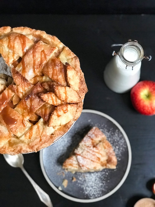 Apple Cheddar Pie
