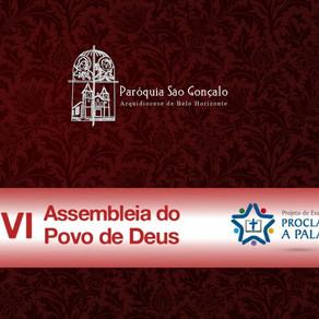 No dia 08 de Dezembro será apresentado o Projeto de Evangelização Proclamar a Palavra