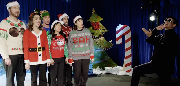 Rob Riggle Fox Sports Christmas Special