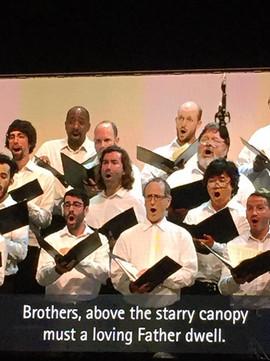 Hollywood Bowl Jumbotron - Beethoven 9
