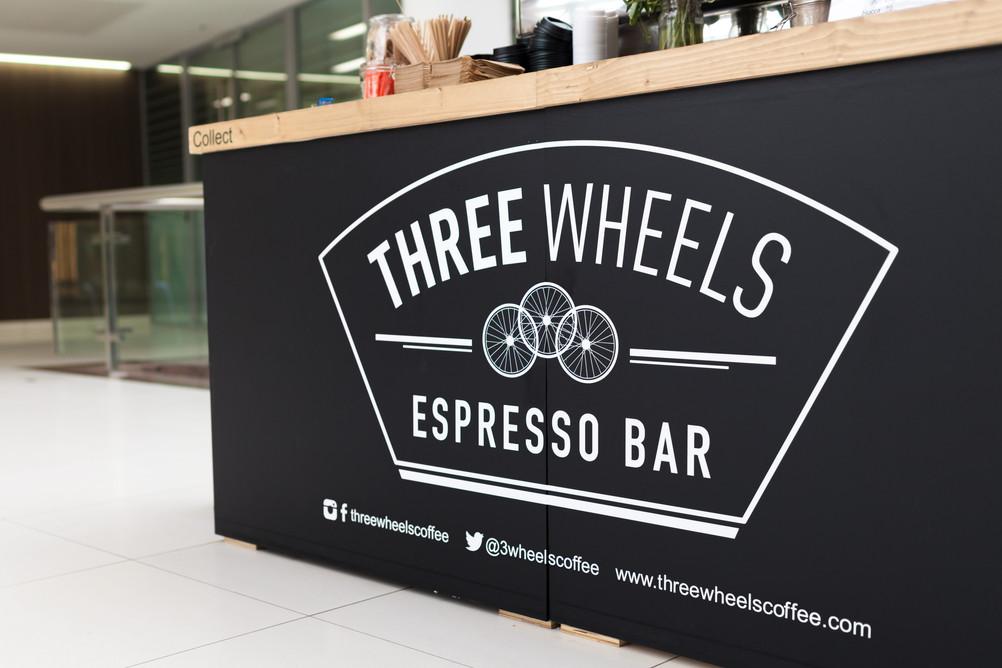 Three Wheels Coffee Number One London Br