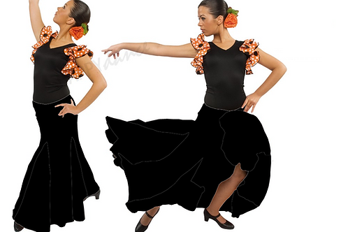 FALDA FLAMENCO EF052 HAPPY DANCE
