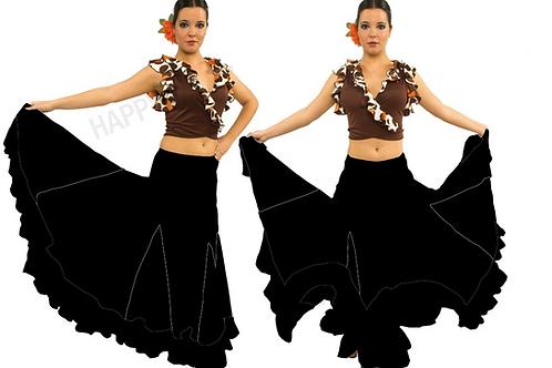 FALDA FLAMENCO EF013 HAPPY DANCE