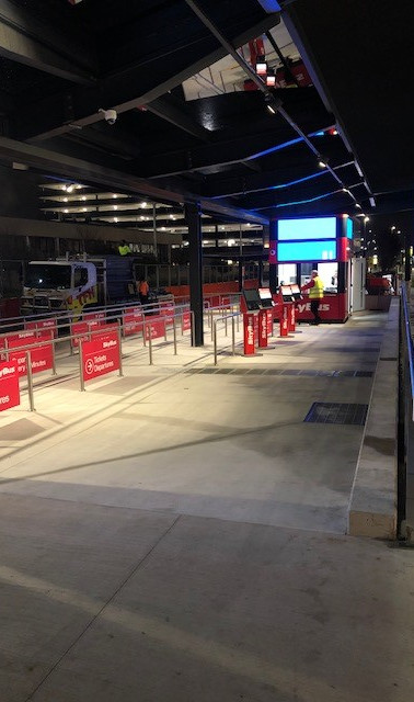 SkyBus T4 Upgrade Works