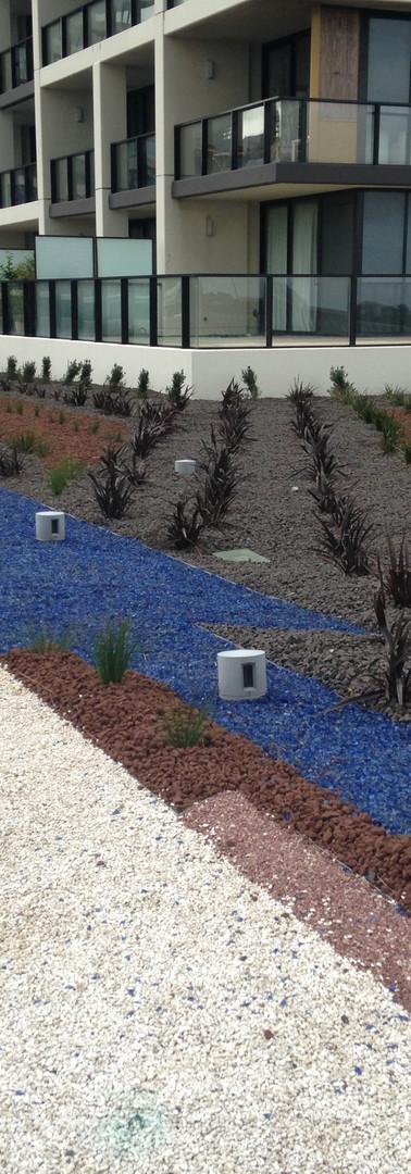 Docklands Rooftop Garden Installation