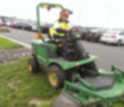 Grounds Maintenance Mowing
