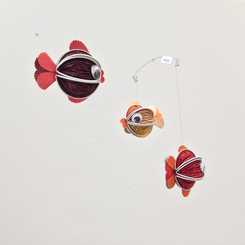 Mobile 3 poissons
