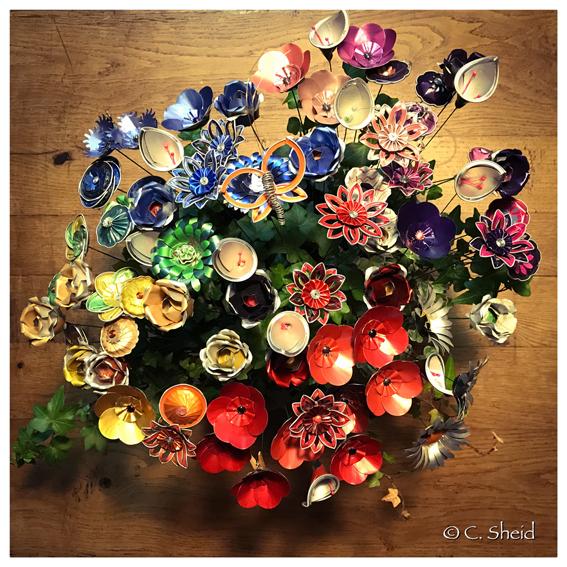 Bouquet d'immortelles