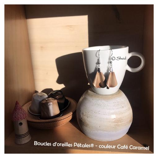 BO Pétales Marbré Café Caramel