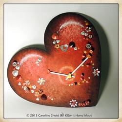 Horloge Cœur