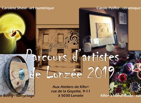 Parcours d'artistes de Lonzée 2019
