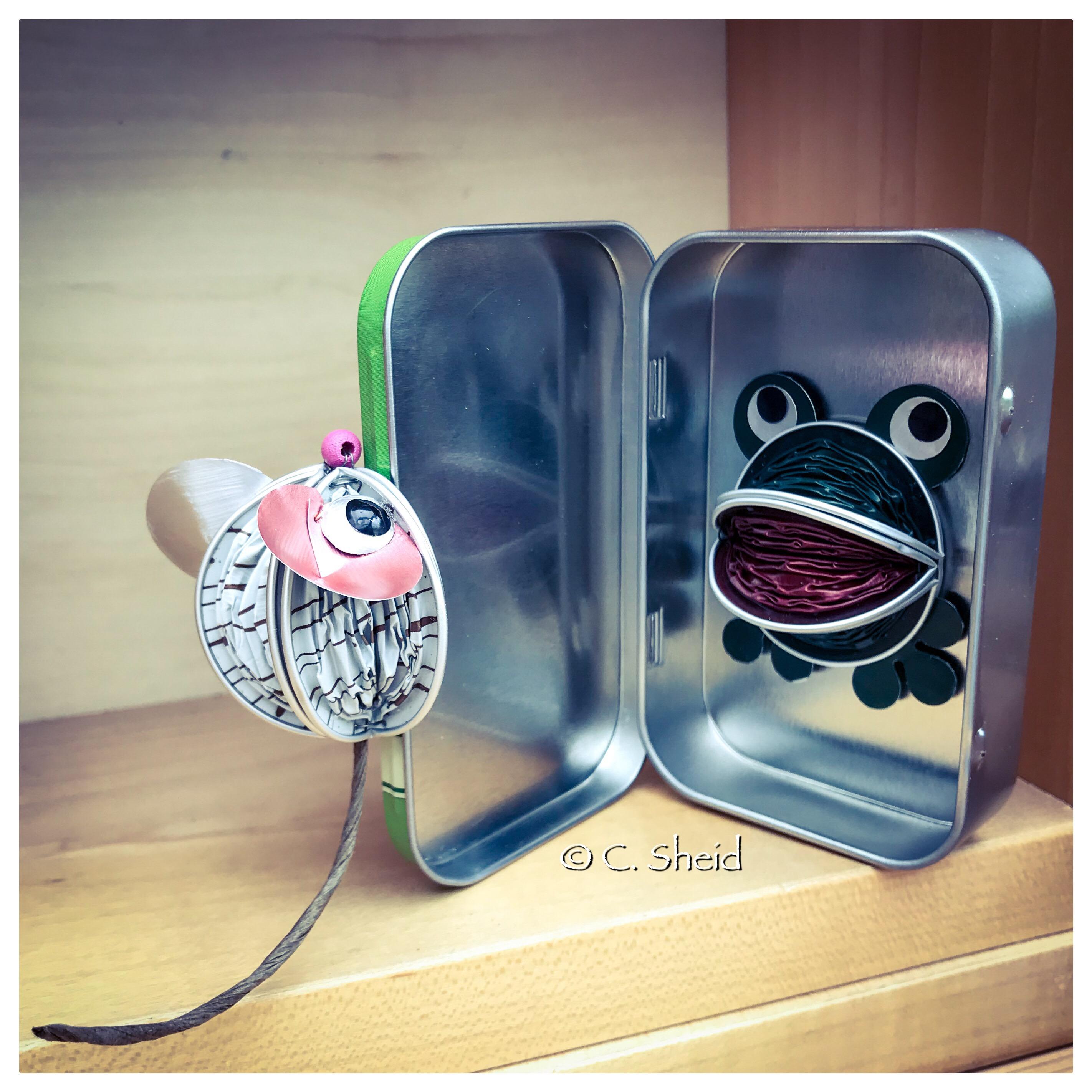 Magnet souris & grenouille
