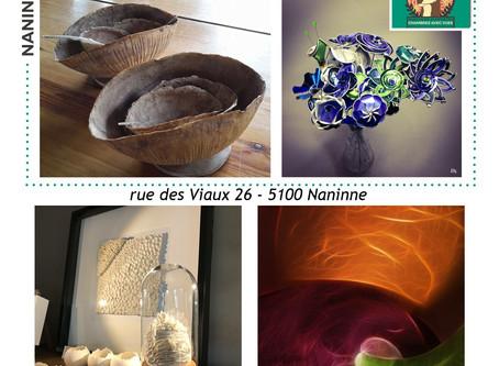 Expo: Chambre avec Vues - Parcours d'artistes NAMUR