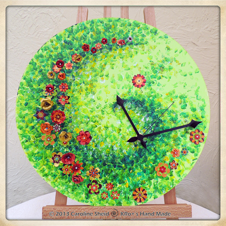 Horloge de printemps