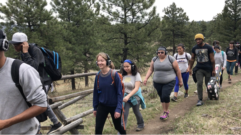 Hiking _ guided herbalist walk