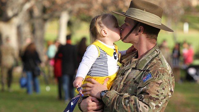 Army parade. Matthew Ansell