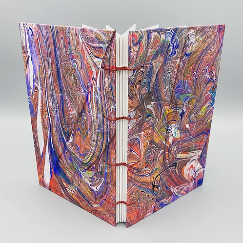 Double Marbled Small Sketchbook