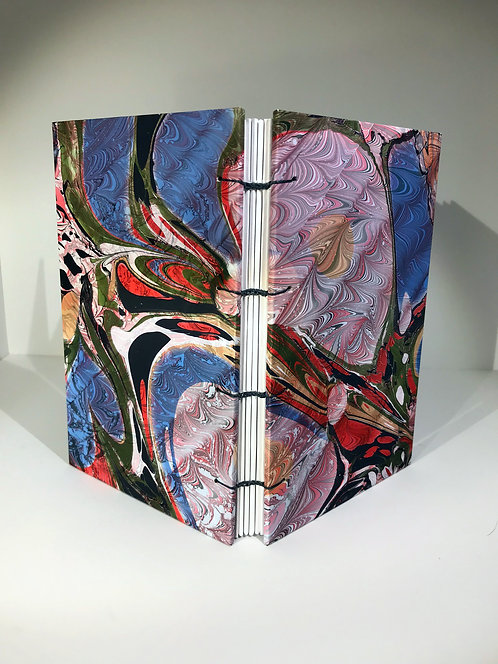 Small Sketchbook, Double Marbled with Drawing paper