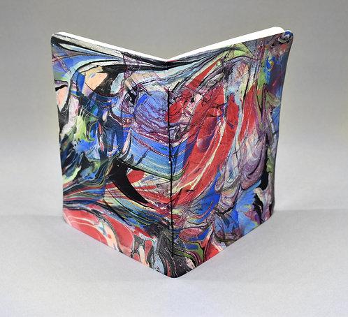 Double Marbled Large Pocket Sketchbook