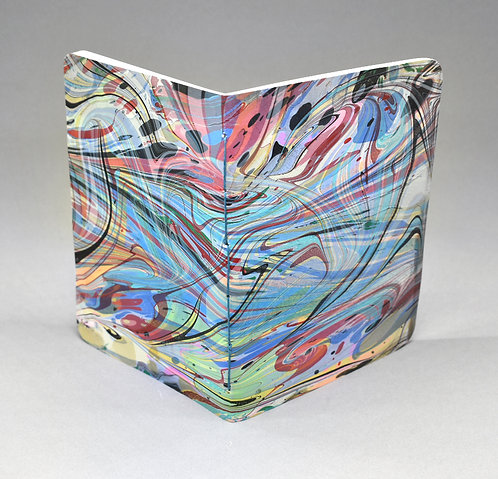 Double Marbled Large Pocket Sketchbook