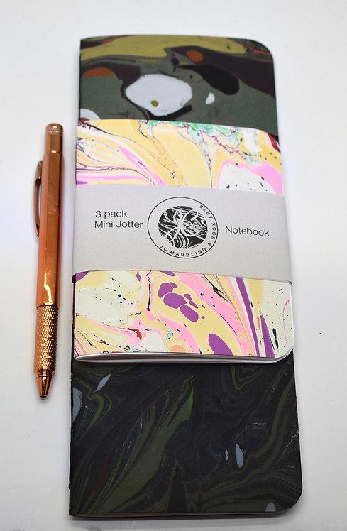 3 pack- Mini Jotter Notebooks