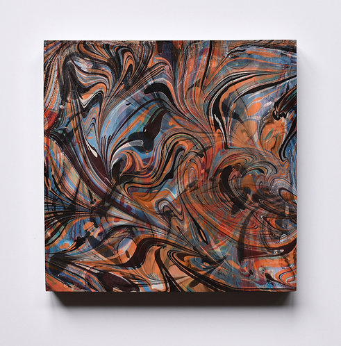 """""""Freestyle Double Marble"""" Abstract"""