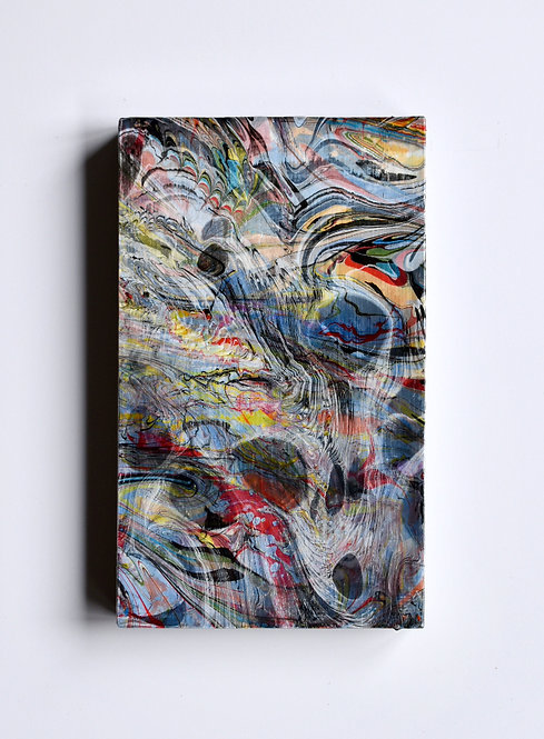 Triple Marbled Abstract