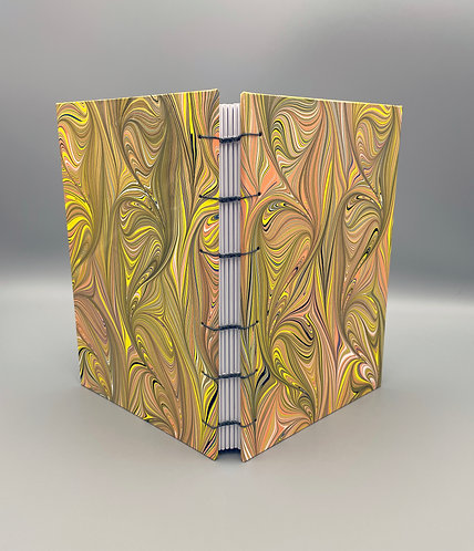 Large Sketchbook Coptic stitch with Lined Pages