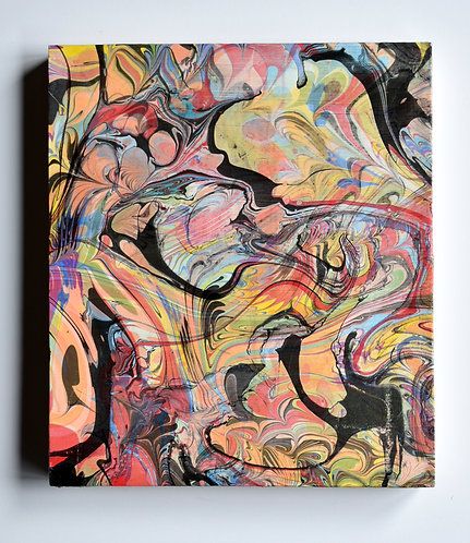 Whimsical Freestyle Abstract